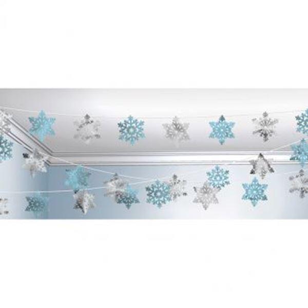 Picture of Decoración copos de nieve (30m)