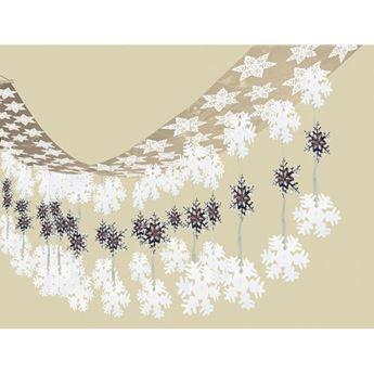 Imagen de Decorados copos de nieve Mágico (3m)