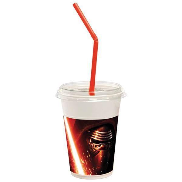 Imagen de Vasos Star Wars Refresco cumple