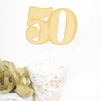 Picture of Topper tarta 50 años