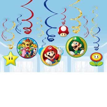 Picture of Decorados espirales Super Mario Bros (12)