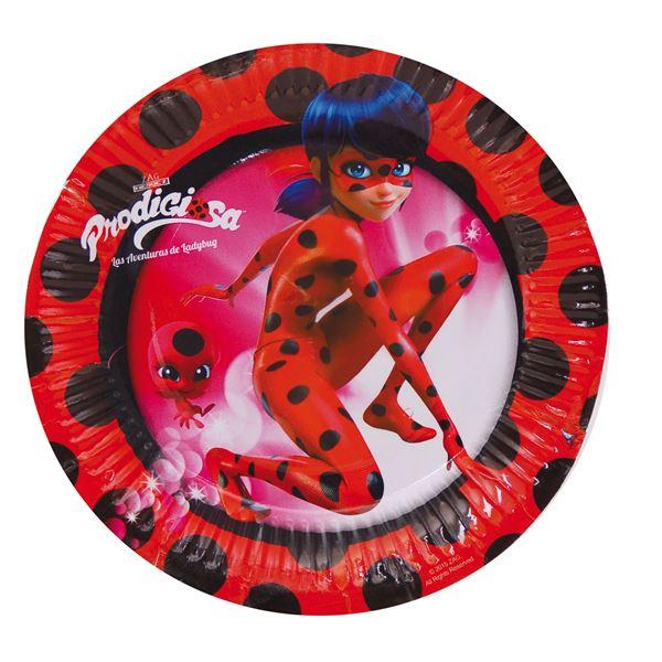 Picture of Platos Ladybug pequeños (8)