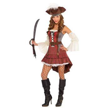 Imagens de Disfraz Pirata Chica Lujo (Talla M)