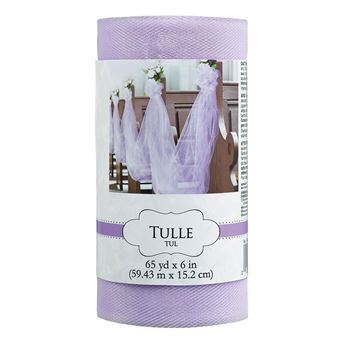 Imagen de Tul rollo color lila (59 m)