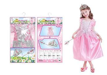 Imagens de Disfraz princesa con accesorios (3 a 6 años)