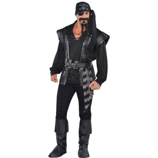 Imagens de Disfraz Pirata Negro Talla unica