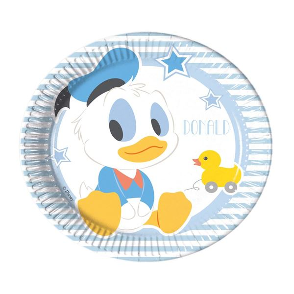 Picture of Platos Baby Mickey dulce pequeños (8)