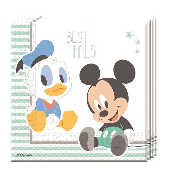 Imagens de Servilletas Baby Mickey dulce (20)