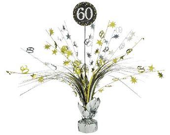 Imagen de Centro de mesa 60 años elegante
