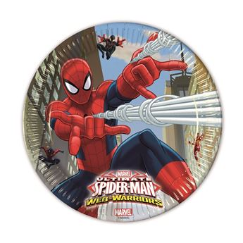 Picture of Platos Spiderman Warrior grandes (8)
