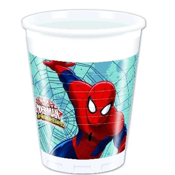 Imagen de Vasos Spiderman warrior (8)