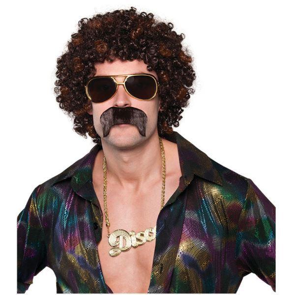 Picture of Kit bigote y peluca años 70