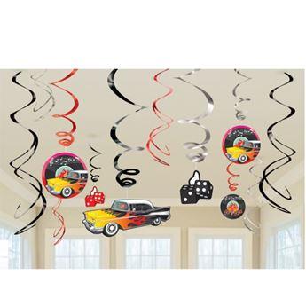 Imagens de Decorados espirales fiesta años 50 (12)