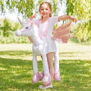 Imagen de Disfraz unicornio mágico con luz y sonido (3 - 8 años)