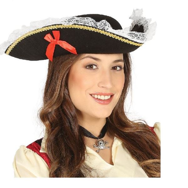 Picture of Sombrero Pirata mujer