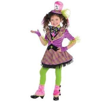 Imagen de Disfraz Sombrerera loca (6-8 años)