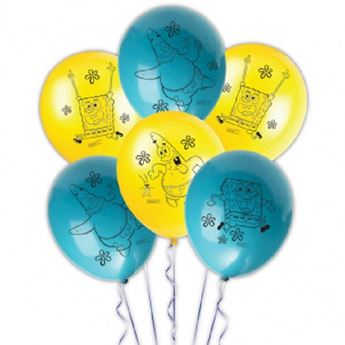 Picture of Globos Bob Esponja (6)