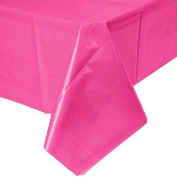Picture of Mantel fusia plástico rectangular