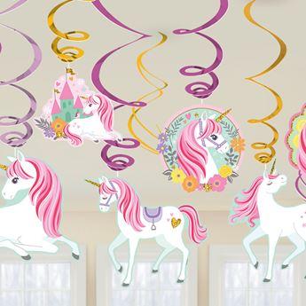Imagen de Decorados espirales unicornio mágico (12)