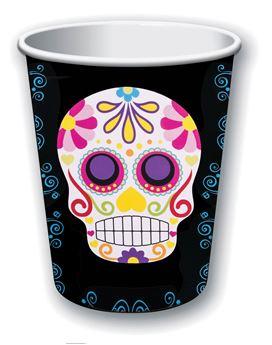 Imagen de Vasos fiesta Día de los Muertos (8)