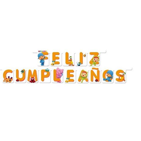 Imagen de Banner feliz cumpleaños Pocoyó