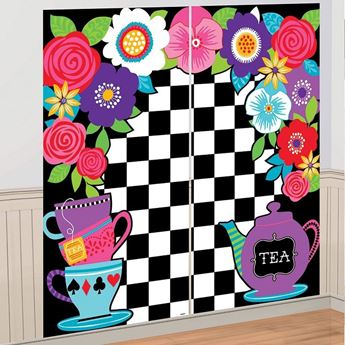 Picture of Decorados pared fiesta del té