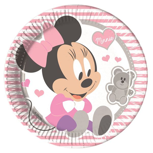 Picture of Platos Baby Minnie dulce grandes (8)