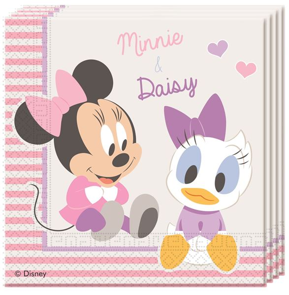 Picture of Servilletas Baby Minnie dulce (20)