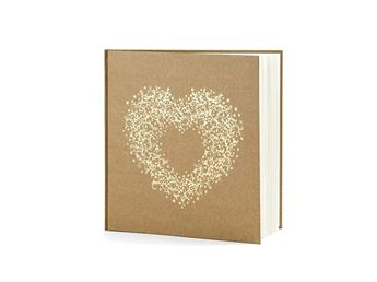 Imagen de Libro de firmas corazón