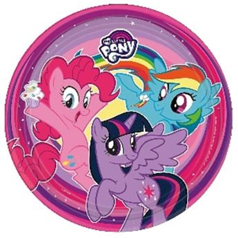 Picture of Platos My Little Pony mágico grandes (8)