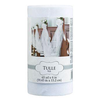Picture of Tul rollo color blanco (59 m)