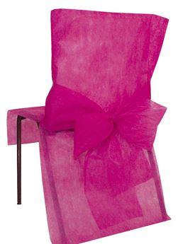 Imagen de Fundas silla fucsia maxi pack (10)