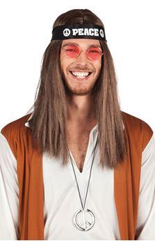 Imagens de Set hippie (pañuelo,collar y gafas)