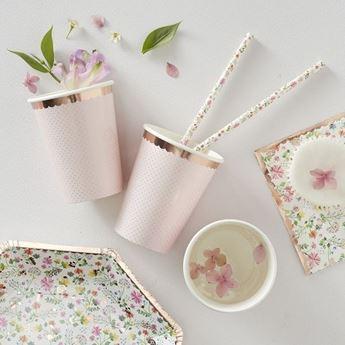 Imagen de Vasos primavera floral  (8)