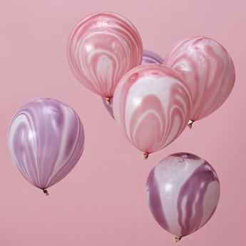 Picture of Globos rosado y púrpura (10)