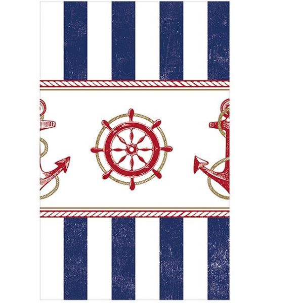 Imagens de Mantel marinero levando anclas