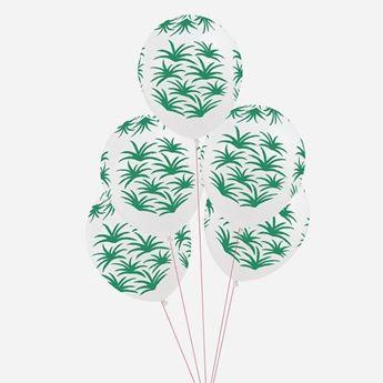 Imagens de Globos hojas de palmera (5)