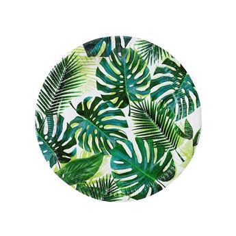 Imagen de Platos palmeras tropical grandes (8)