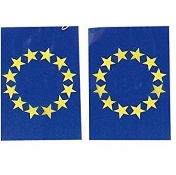 Imagens de Banderín banderas Unión Europea plástico (50m)