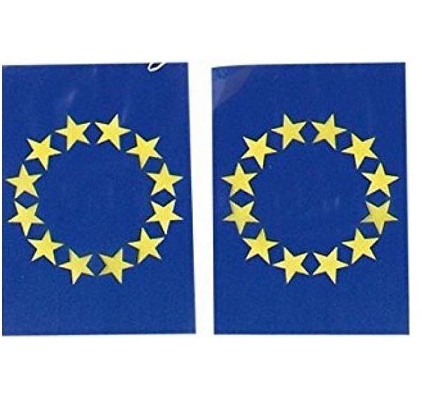 Picture of Banderín banderas Unión Europea plástico (50m)
