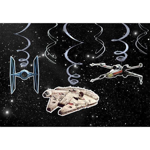 Imagen de Decorados espirales Star Wars (6)