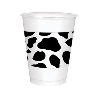 Imagen de Vasos Cowboy Oeste plástico XXL (25)