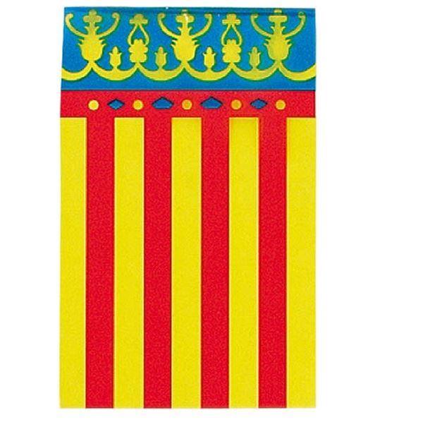 Picture of Banderín bandera comunidad valenciana plástico (50m)