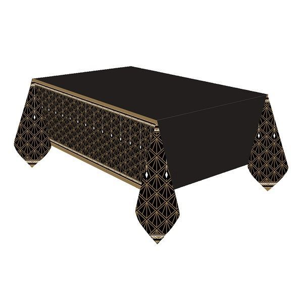 Picture of Mantel negro & dorado glamour
