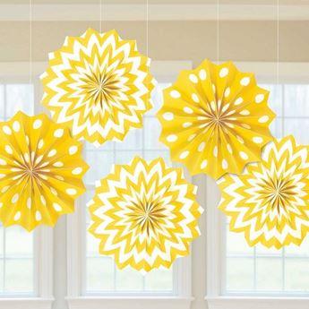 Imagens de Decorados abanicos original amarillos (5)