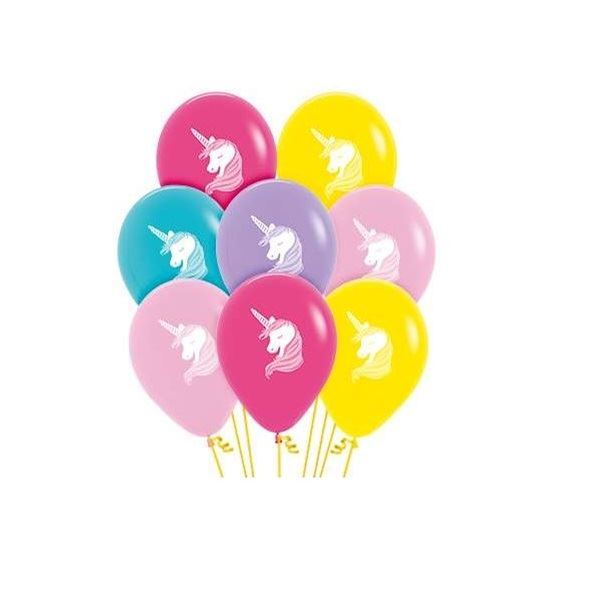 Picture of Globos surtidos Unicornio (12)