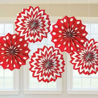 Picture of Decorados abanicos original rojos (5)