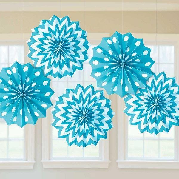 Imagen de Decorados abanicos original azul (5)