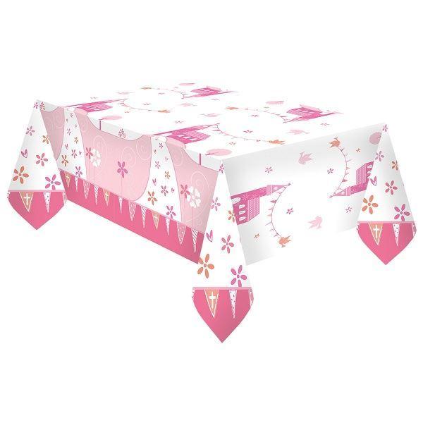 Imagen de Mantel comunión rosa iglesia