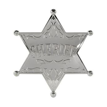 Imagen de Placa estrella Sheriff